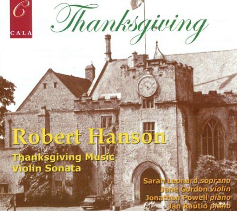 Robert Hanson Sonata